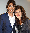 Sharon and Josh Groban