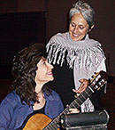 Recording with Joan Baez