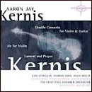 Aaron Jay Kernis - Double Concerto for Violin & Guitar cover