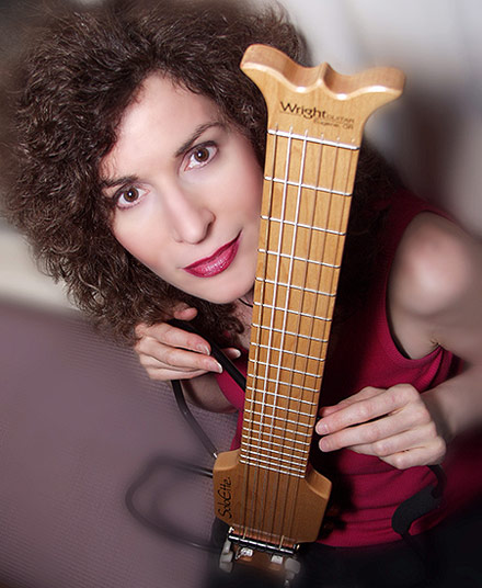 Sharon Isbin with SoloEtte Travel Guitar