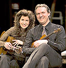 Sharon Isbin and Mark O'Connor at Symphony Space