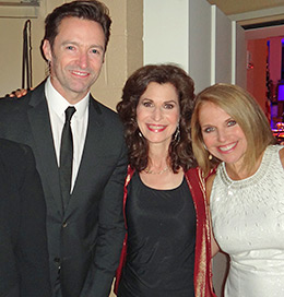 Hugh Jackman, Sharon, Katie Couric