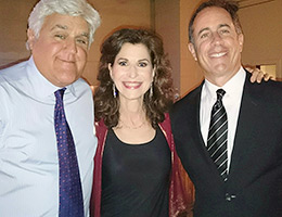Jay Leno, Sharon, Jerry Seinfeld - Kennedy Center