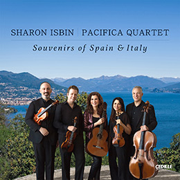 Sharon Isbin & Pacifica Quartet: Souvenirs of Spain & Italy