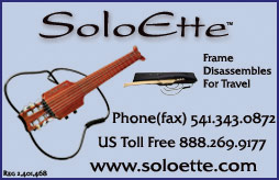SoloEtte Travel Guitars