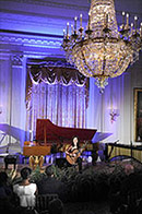 Sharon Isbin Performs for the President and First Lady at the White House, November 4, 2009