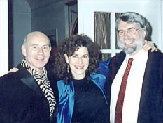 Christoph Eschenbach, Sharon, Christopher Rouse, January 2000, Germany