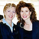 Sharon with Hillary Clinton