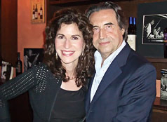 Sharon and Riccardo Muti, 2009
