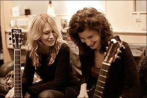 Sharon with Nancy Wilson