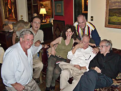Edmund White, Ned Rorem, Edward Albee, John Kolomvakis and Jim Dowell