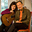 Sharon Isbin, Tan Dun, Photo Rob Fortunato